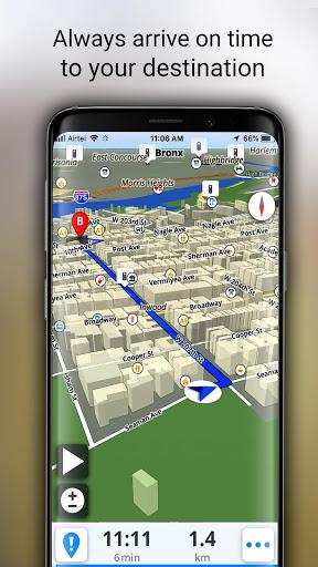 GPS Live Navigation, Maps, Directions and Explore screenshot 6