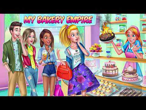 My Bakery Empire - Bake, Decorate & Serve Cakes screenshot 1
