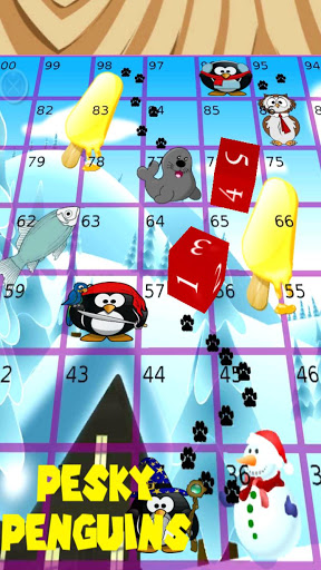 Pesky Penguins, Snakes Ladders screenshot 6