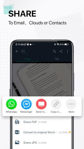 CamScanner-สแกนเอกสารฟรี PDF Scanner App screenshot 5