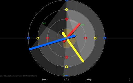 ReGular Clock Live Wallpaper 9 تصوير الشاشة