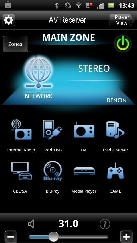 Denon Remote App screenshot 1
