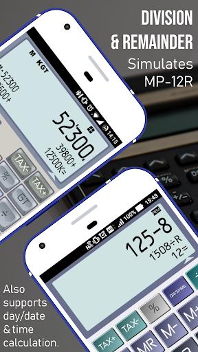 Calculator - CASIO style Multi calc with Remainder screenshot 4