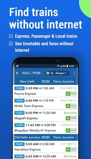 Where is my Train : Indian Railway Train Status screenshot 3