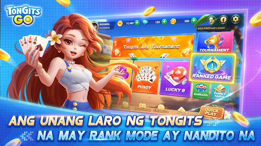 Tongits Go - Exciting and Competitive Card Game screenshot 1