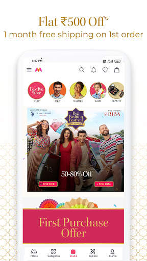 Myntra Online Shopping App - Shop Fashion & more screenshot 2