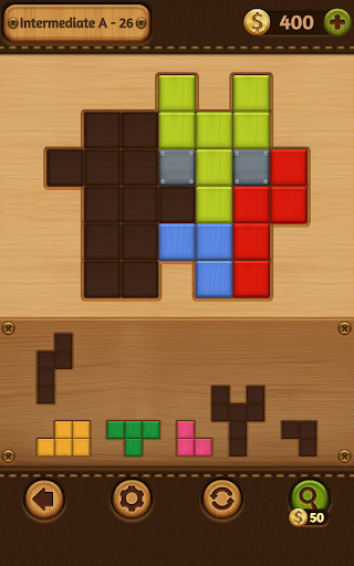 Block Puzzle Games: Wood Collection 14 تصوير الشاشة