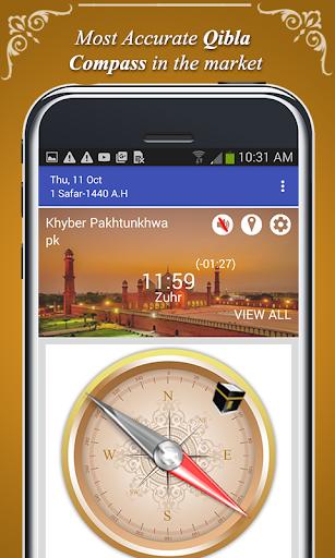 Qibla Direction Finder & Prayer Time Alarm screenshot 3