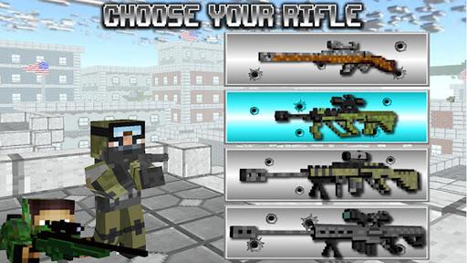 American Block Sniper Survival screenshot 1