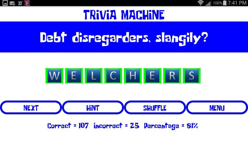 Trivia Machine screenshot 5