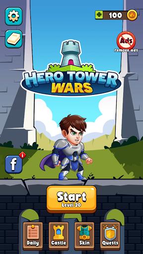 Hero Tower Wars - Merge Puzzle screenshot 4