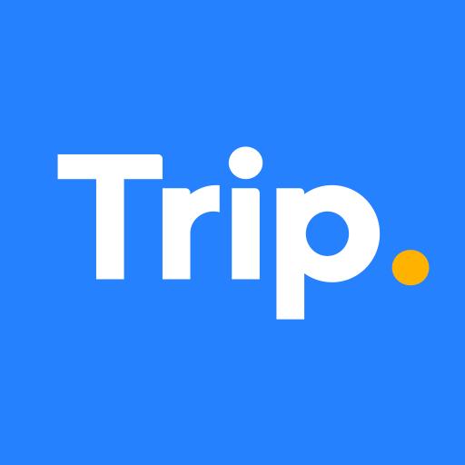 Trip.com: Flights, Hotels, Train & Travel Deals أيقونة