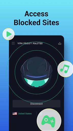 VPN Proxy Master - free unblock VPN & security VPN screenshot 2
