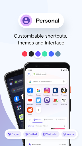 Opera Mini - fast web browser screenshot 7