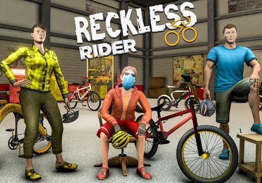 Reckless Rider- Extreme Stunts Race Free Game 2020 screenshot 8