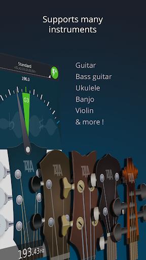 Ultimate Guitar Tuner: Afinador gratis de guitarra screenshot 3