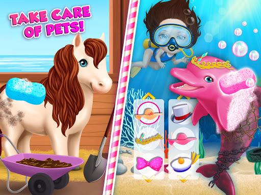 Sweet Baby Girl Summer Fun 2 - Sunny Makeover Game 15 تصوير الشاشة