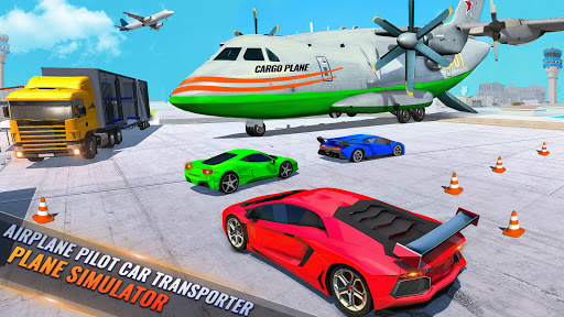 Airplane Pilot Car Transporter: Airplane Simulator screenshot 2