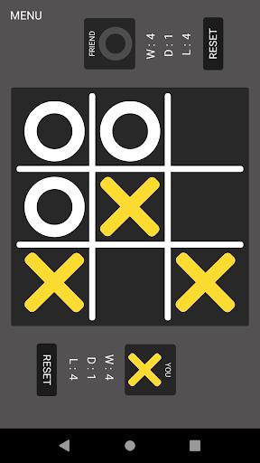 Tic Tac Toe : Noughts and Crosses, OX, XO screenshot 1