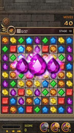 Jewels Temple Quest : Match 3 स्क्रीनशॉट 4