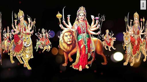 4D Maa Durga Live Wallpaper 18 تصوير الشاشة