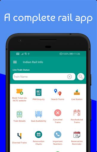 Live Train & Indian Railway PNR Status - IRCTC screenshot 2
