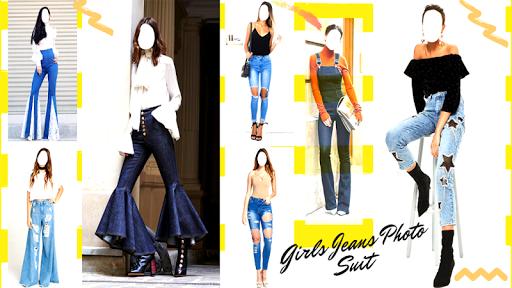 Girls Jeans Photo Suit screenshot 6