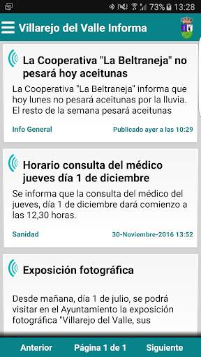 Villarejo del Valle Informa screenshot 1