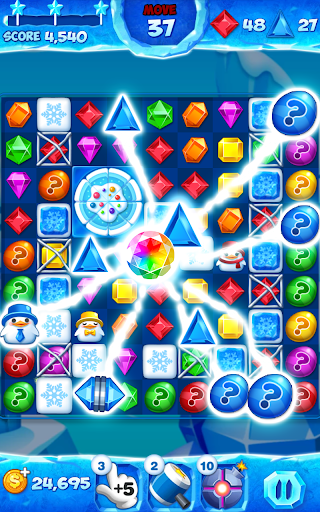 Jewel Pop Mania:Match 3 Puzzle 1 تصوير الشاشة