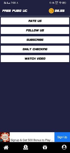 Pro Gamer - Free Uc, Diamonds & Earn Money screenshot 8