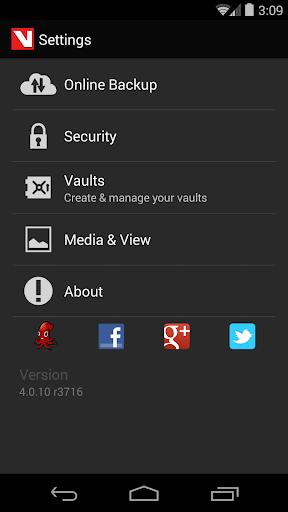 Hide Pictures & Videos - Vaulty 5 تصوير الشاشة