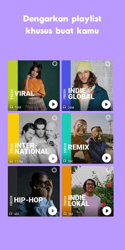 JOOX: Gratis Musik download, Radio dan Karaoke screenshot 2