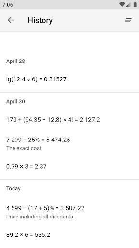 Calc Improved 4 تصوير الشاشة