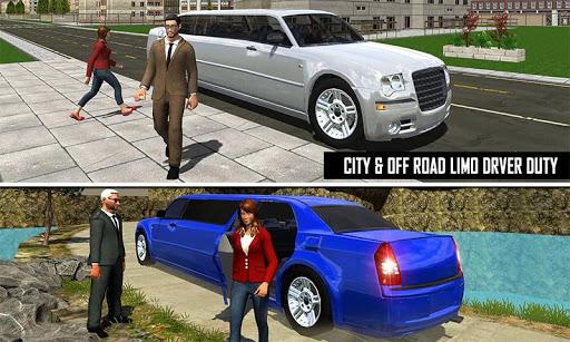 Big City Limo Car Driving Simulator : Taxi Driving 6 تصوير الشاشة