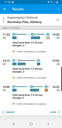 Travel planner 2 تصوير الشاشة