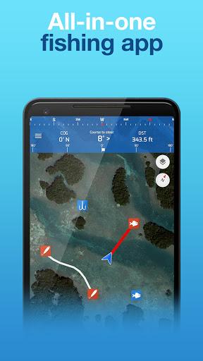 Fishing Points: GPS, Tides & Fishing Forecast 6 تصوير الشاشة