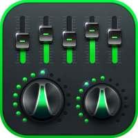 Эффект музыки Эквалайзер-Audio on 9Apps