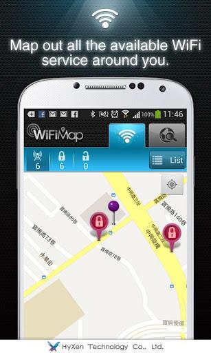 WiFiMap (Free WiFi) screenshot 2