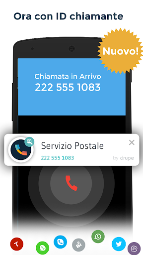 Contatti & Telefono - drupe screenshot 2