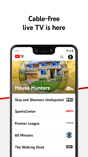 YouTube TV - Watch & Record Live TV screenshot 1