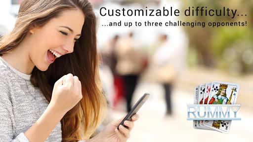 رومي لعبة بطاقة مجانية Rummy 3 تصوير الشاشة