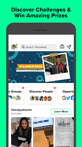 Goodwall - Community for Students & Professionals screenshot 1