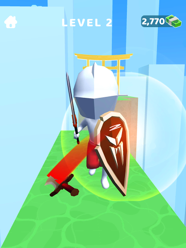 Sword Play! Ninja Slice Runner 3D screenshot 12