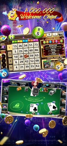 Full House Casino - Free Vegas Slots Machine Games 3 تصوير الشاشة