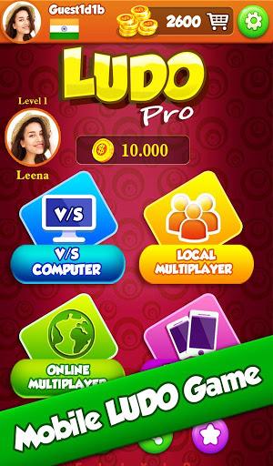 Ludo Pro : King of Ludo's Star Classic Online Game 9 تصوير الشاشة