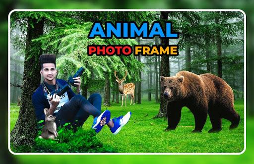 Animal Photo Frame - Animal Photo Editor screenshot 3