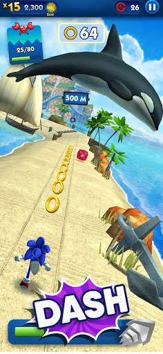 Sonic Dash - Endless Running & Racing Game screenshot 2