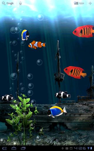 Aquarium Free Live Wallpaper screenshot 9