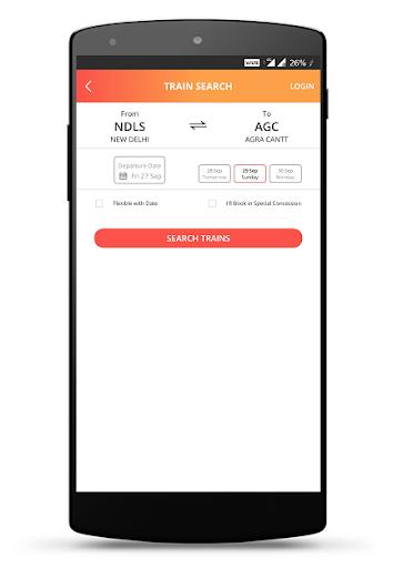 IRCTC Rail Connect - for RAIL SAARTHI screenshot 4