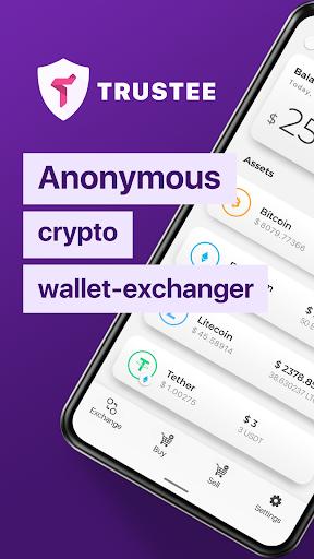Trustee Wallet - best bitcoin and crypto wallet 1 تصوير الشاشة